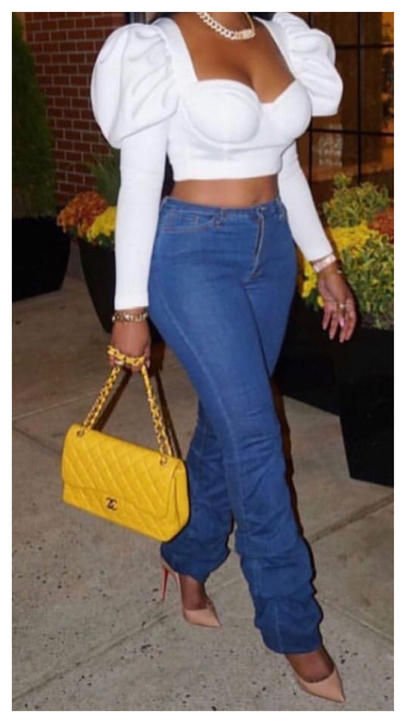 Scrunch it Up High Waist Jean