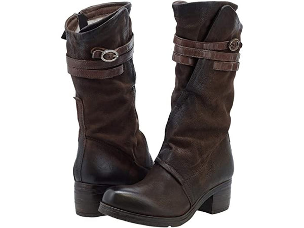 Let's Skip It Tall Buckle Boot