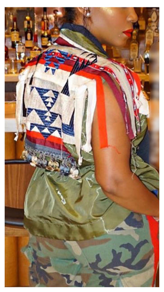 Tribal Mix Flair Vest `
