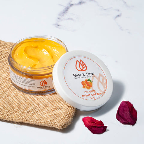 Orange Night Cream