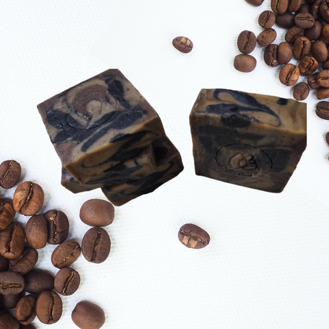 Coffee Charcoal Scrub Soap