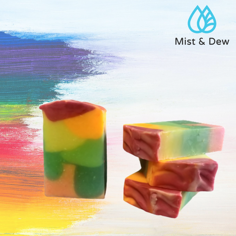 Rainbow Milk Soap