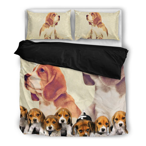 Beagle In Group Bedding Set- Free Shipping