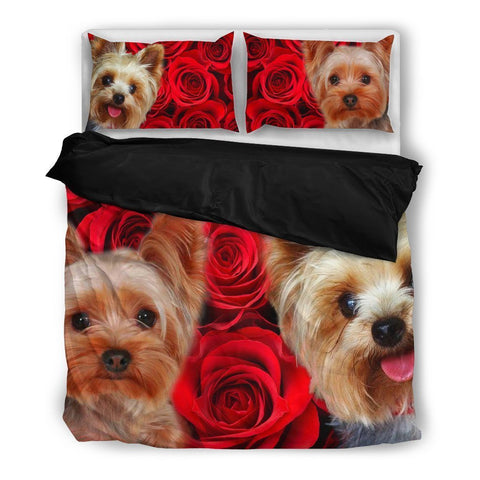 Yorkshire Terrier Bedding Set- Free Shipping