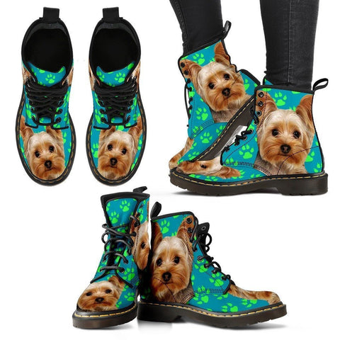 Yorkshire Print Boots For Women-Express Shipping