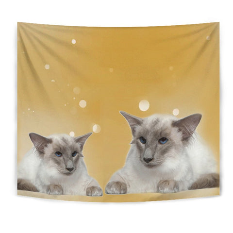 Balinese cat Print Tapestry-Free Shipping