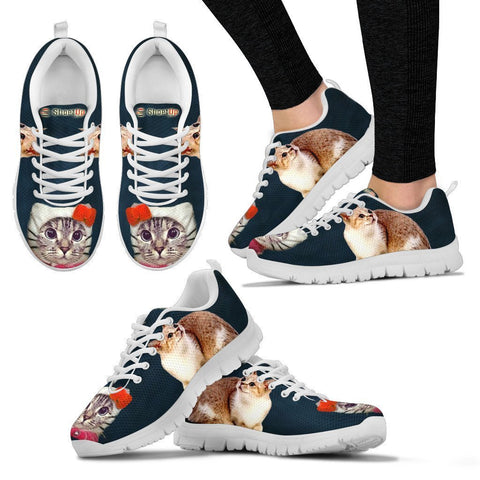 Munchkin Cat (Halloween) Print-Running Shoes For Women-Free Shipping