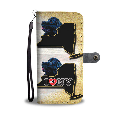 Newfoundland Dog Art Print Wallet Case-Free Shipping-NY State