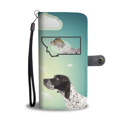 Pointer Print Wallet Case-Free Shipping-MT State
