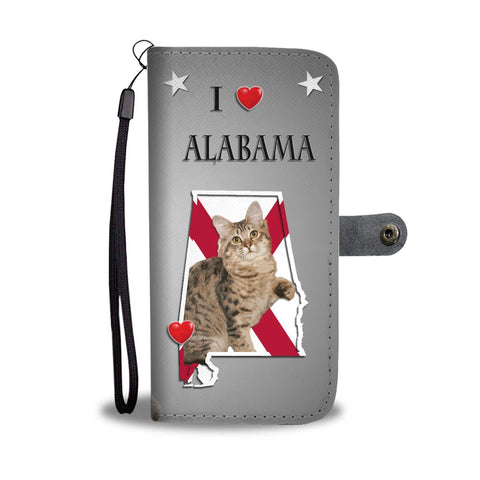 American Bobtail Cat Print Wallet Case-Free Shipping-AL State