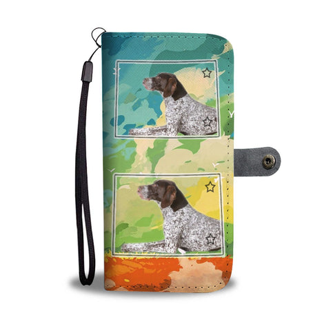 German Short Haired Pointer Print Wallet Case-Free Shipping-CO State