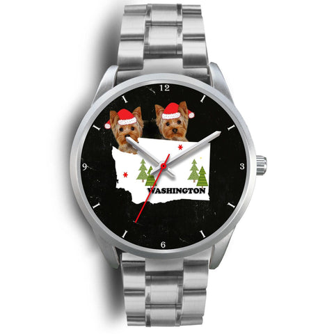 Yorkshire Terrier (Yorkie) Washington Christmas Special Wrist Watch-Free Shipping