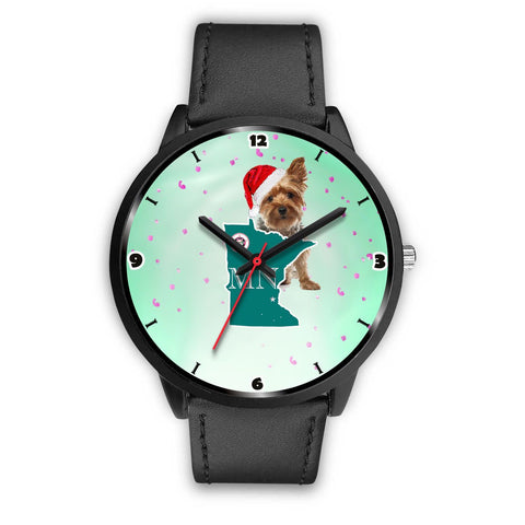 Yorkshire Terrier Minnesota Christmas Special Wrist Watch-Free Shipping