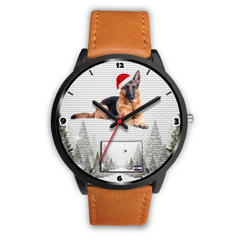 German Shepherd Dog Colorado Christmas Special Wrist Watch-Free Shipping