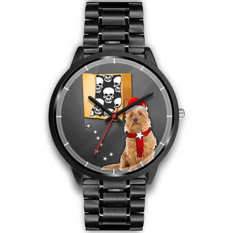 Australian Terrier Indiana Christmas Special Wrist Watch-Free Shipping