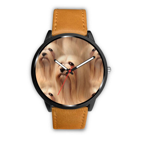 Lhasa Apso Dog Print Wrist Watch-Free Shipping