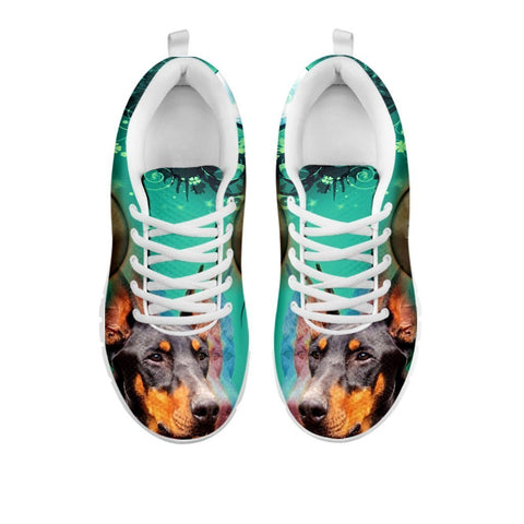 Doberman Pinscher 3D Print Sneakers For Women- Free Shipping-For 24 Hours Only
