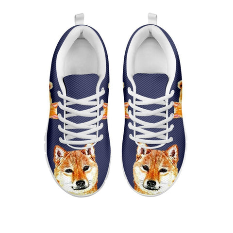 Amazing Shiba Inu Dog-Women's Running Shoes-Free Shipping-For 24 Hours Only