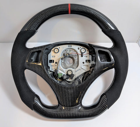Carbon Fiber Steering Wheel BMW E90 E92 M3 335i (Manual Cars)