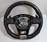 Carbon Fiber Steering Wheel For Mercedes Benz C63/C63s, C43, C450 AMG