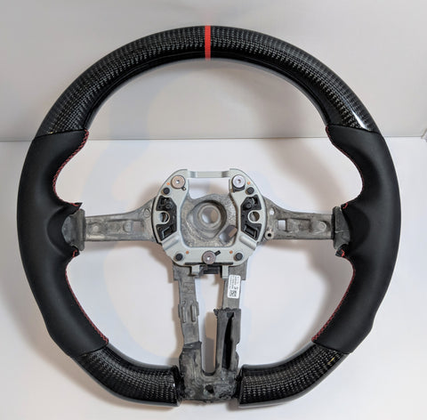 Carbon Fiber Steering Wheel BMW F80 F82 F30 M4 M3 335i (Manual Cars)
