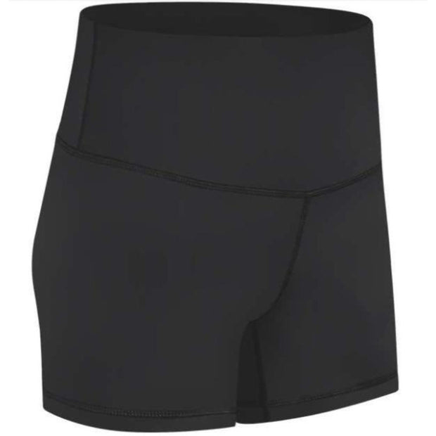 "FEARLESS PLUSH 4"" SHORTS - BLACK"