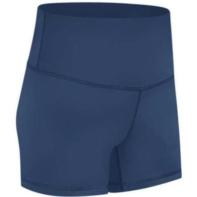 "FEARLESS PLUSH 4"" SHORTS - STEEL BLUE"