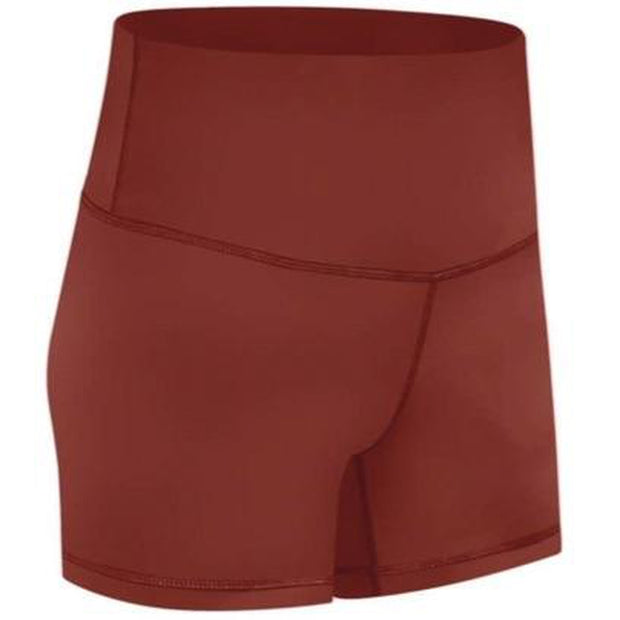"FEARLESS PLUSH 4"" SHORTS - BURNT ORANGE"