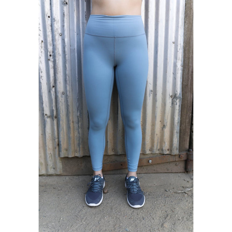 Periwinkle haze leggings by Honey Athletica