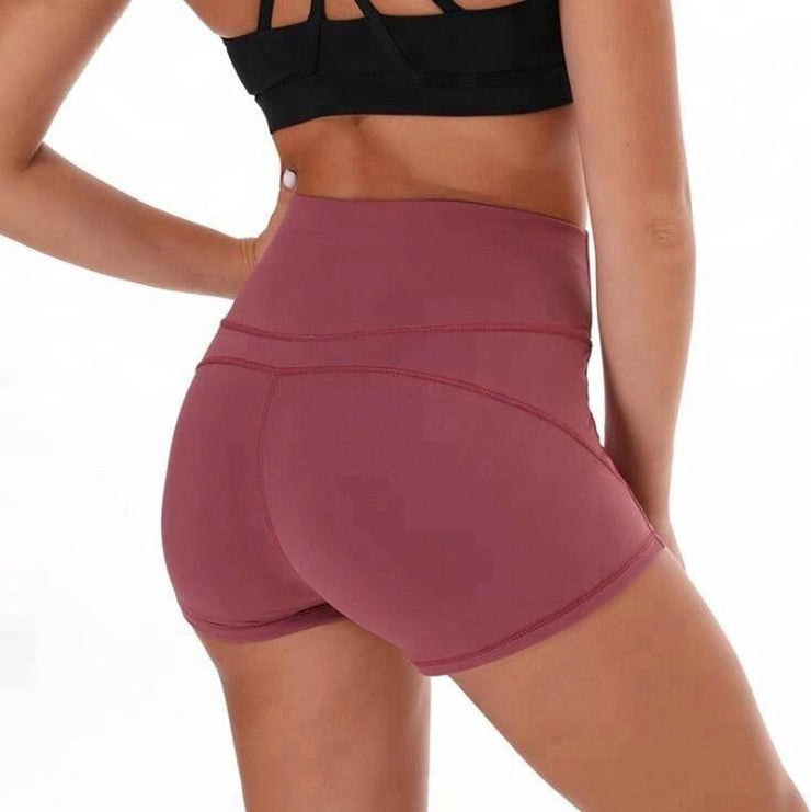 "FLEX 3"" SHORTS - PINK-Shorts-Honey Athletica"