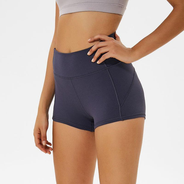 "FLEX 3"" SHORTS - SLATE BLUE-Shorts-Honey Athletica"