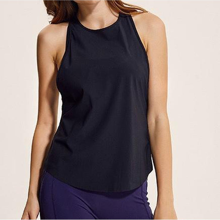 FREEDOM TANK TOP - BLACK-Tank Top-Honey Athletica