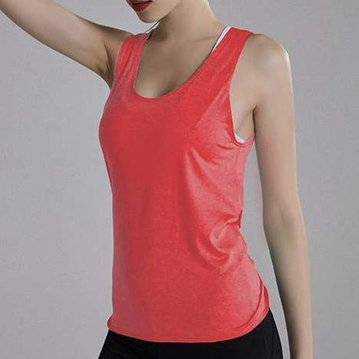 FUN & FREE TANK TOP - WATERMELON-Tank Top-Honey Athletica