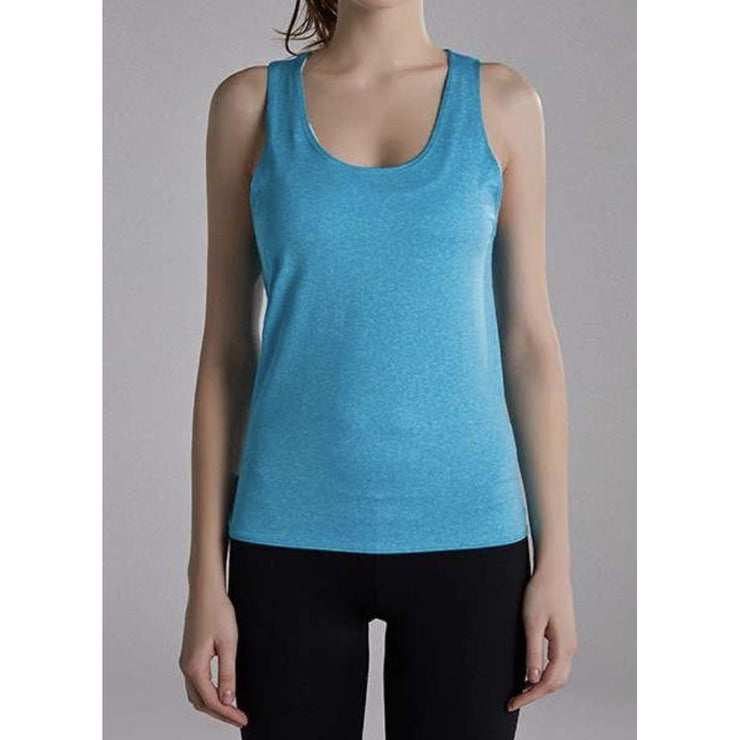FUN & FREE TANK TOP - SEAFOAM BLUE