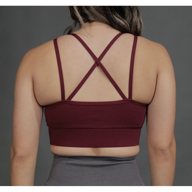 GRACEFUL BRA - BURGUNDY