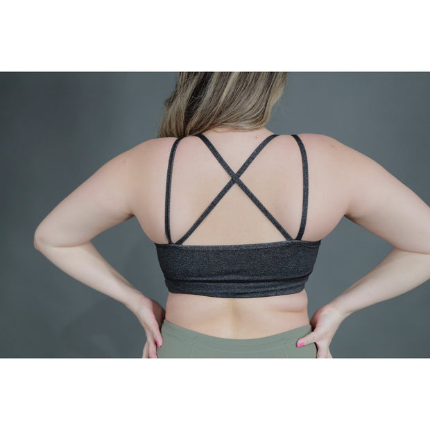 GRACEFUL BRA - SPACE GRAY