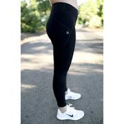 Black leggings by Honey Athletica