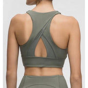 LOUNGE BRA - ARMY GREEN