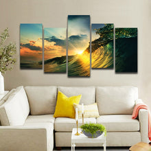 Sunset Seawave WallArt