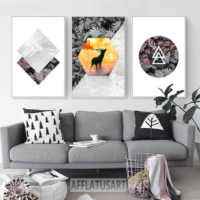 Abstract Nature Posters