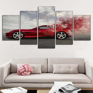 Artsy Car Wall Art