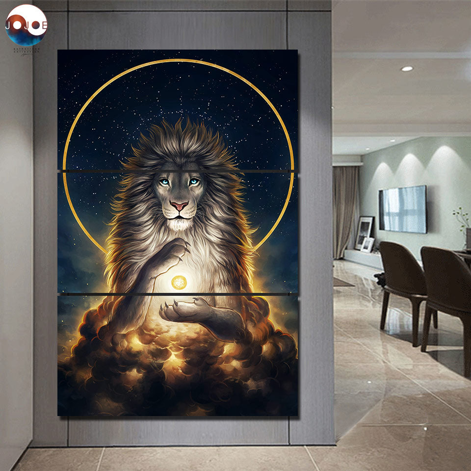 Spiritual Lion Wall Art