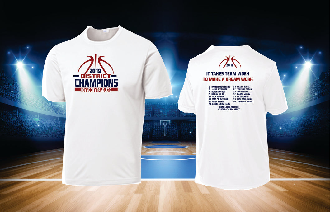 2019 DISTRICT CHAMPIONS SHIRT
