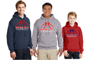 Boyne City Basketball Cotton Hooded Sweatshirt