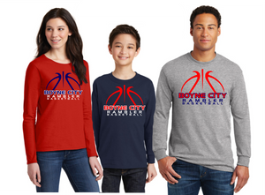 Boyne City Basketball Cotton Long Sleeve Shirt