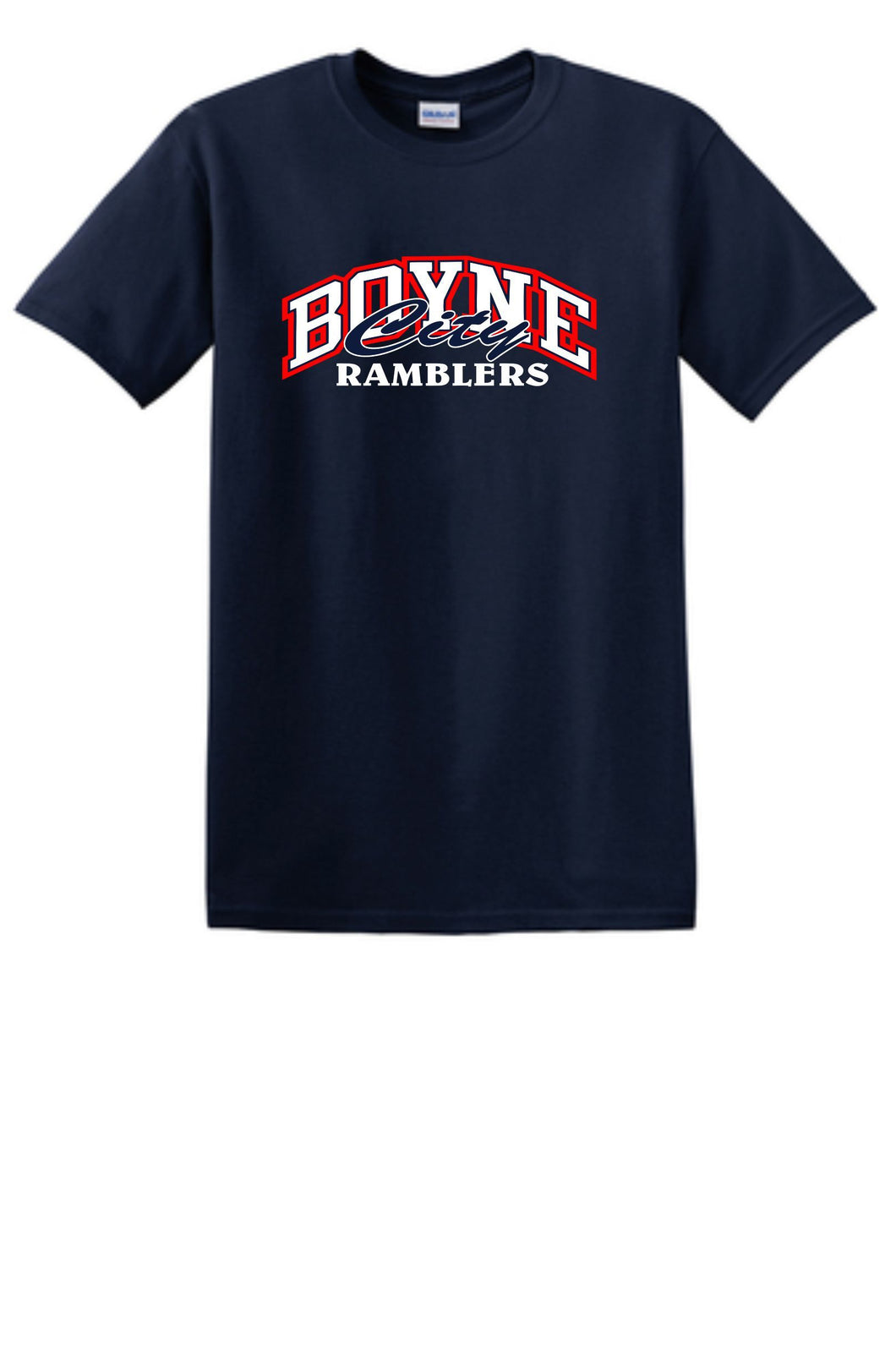 Cotton T-Shirt Traditional Rambler Design