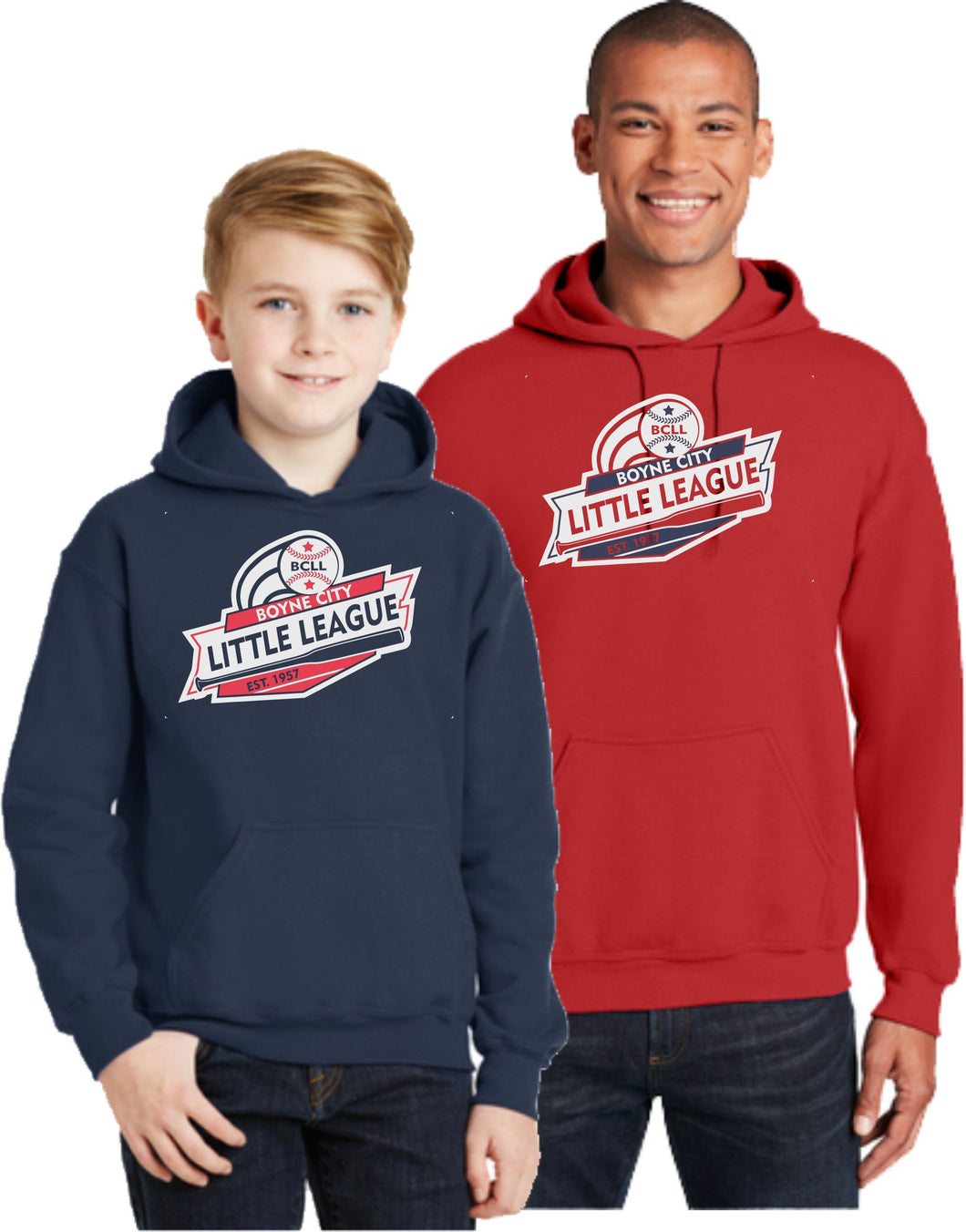 BCLL Cotton Hooded Sweatshirt