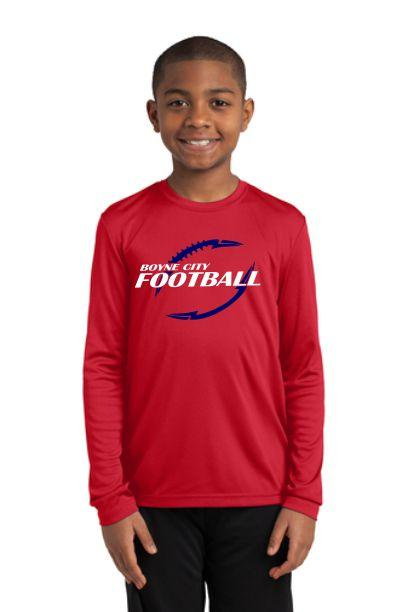Sport-Tek® Youth Long Sleeve PosiCharge® Competitor™ Tee / YST350LS