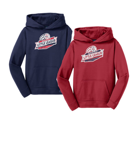 BCLL Youth & Adult Performance Hooded Sweatshirt