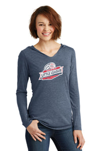 BCLL Ladies Tri-Blend Hooded Sweatshirt